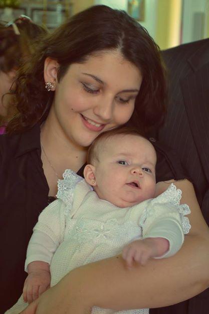 No dia 6 de outubro de 2013 você foi batizada, um escolha que tomamos quando você tinha poucos meses de vida na minha barriga.