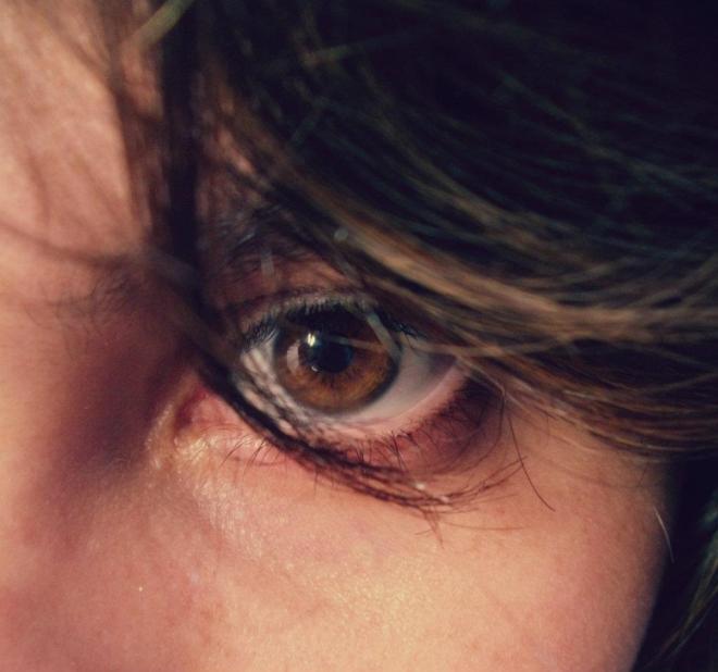 Foto de algum dia do ano de 2012. Sem lágrimas externas.